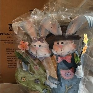 Home Interiors Easter Bunny Candleholder New inbox